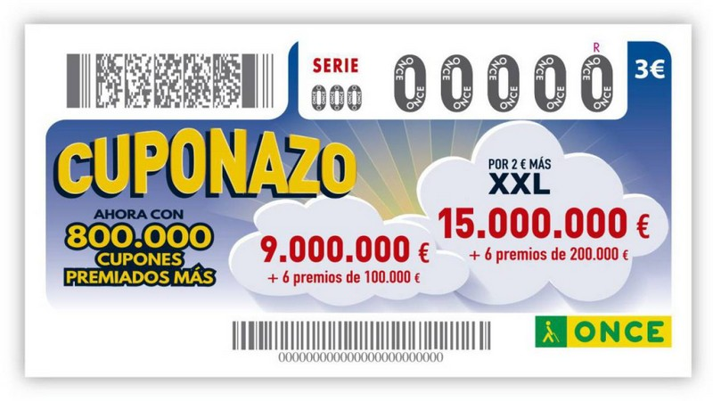 Билет лотереи