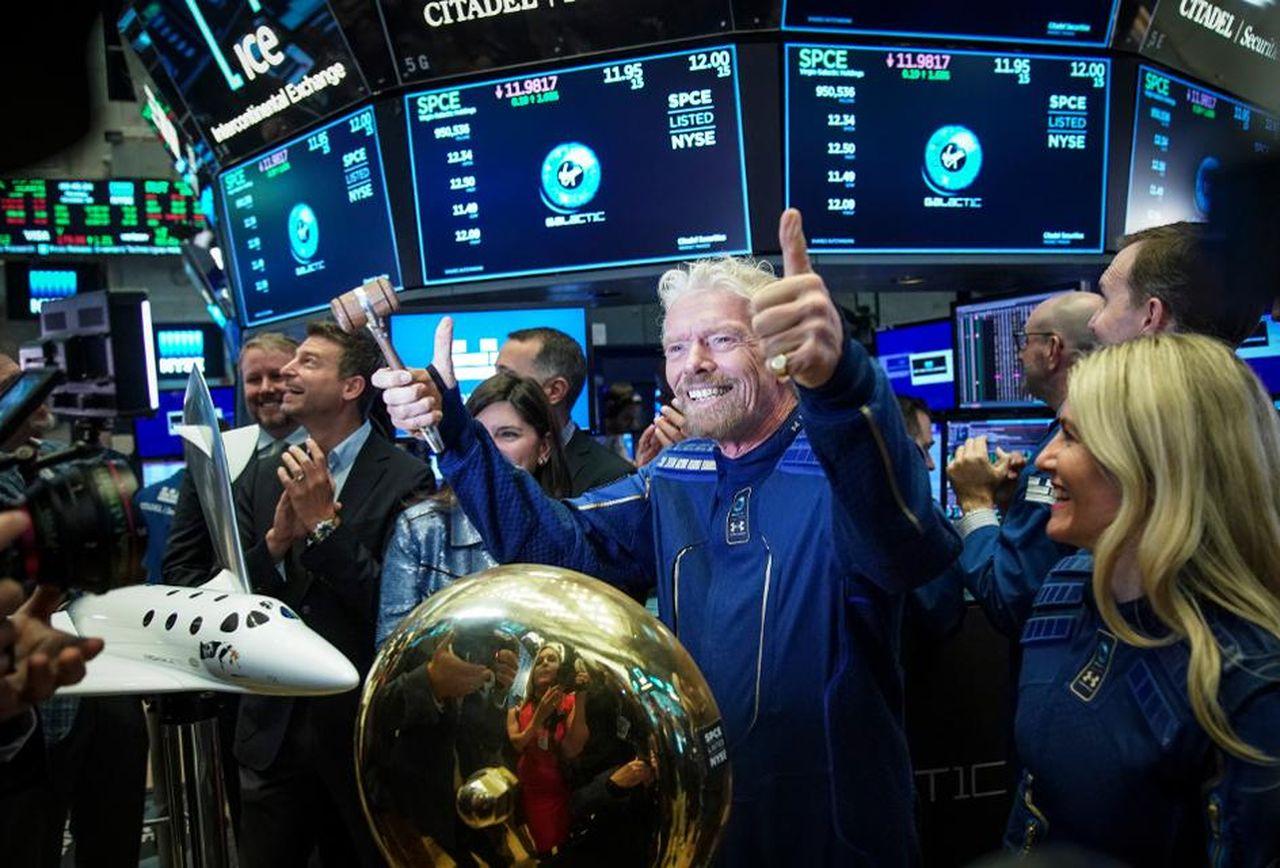 Virgin Galactic Ричарда Брэнсона разыграет билеты в космос